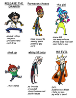 Dragon Booster - tag yourself by Chiibe