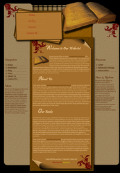 Book Template by Solemnity111