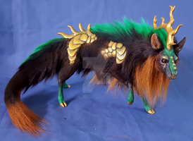 Gold Scaled Forest Spirit FOR SALE by FeralFacade