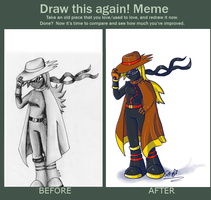 X-Cyclone -Before and  After- by Rhay-Robotnik
