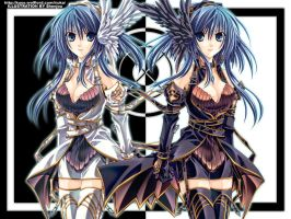 Twins by Shenjou