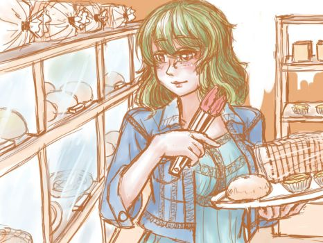 Daily life with Yuuka by hellangelz
