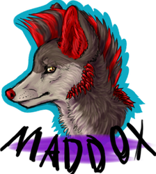 Maddie Badge (+small update in description) by Flawlo
