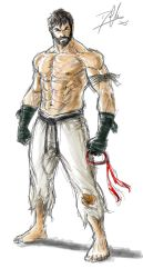 Ryu Alternate (Street Fighter V) by DHK88
