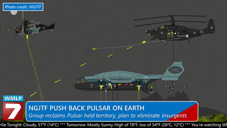 NGJTF Push Back Pulsar on Earth by bobby165324