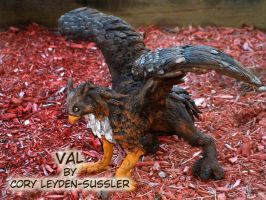 Val - Gryphon by DragonLadyCels