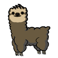 Slothpaca by Lopaki