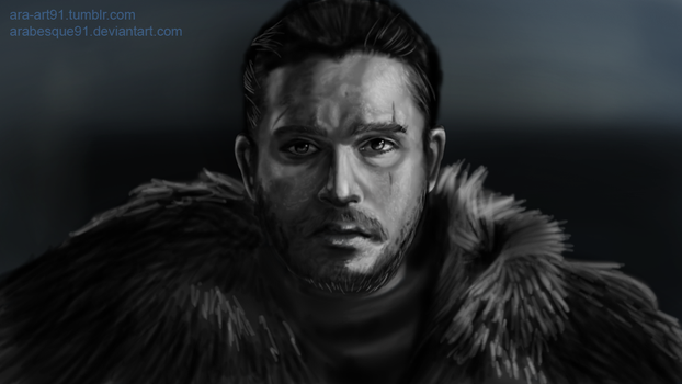 Jon Snow - Game of Thrones by Arabesque91
