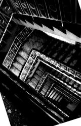 Spiral downstairs by Greyguardian
