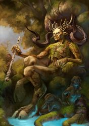 King of Fauns by Valyavande