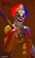 Coulrophobia by evilded777