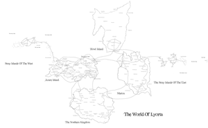The World Of Lyorta Map by JayceRan