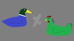 Duck And Chicken Adopts by Mike-the-dabbler