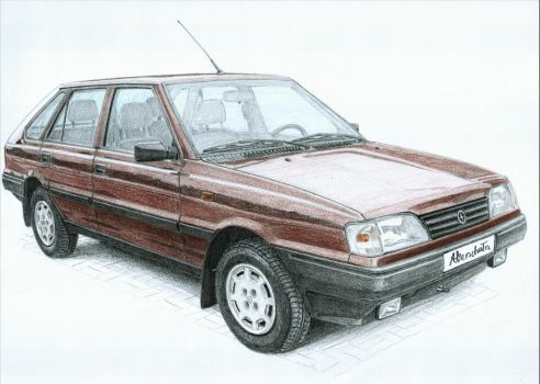 FSO Polonez Caro 3/3 by PaperGarage