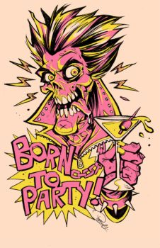 Born To Party by blitzcadet