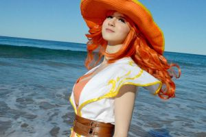 Nami 'Wake up' Cosplay - 4 by Cosplayer-san