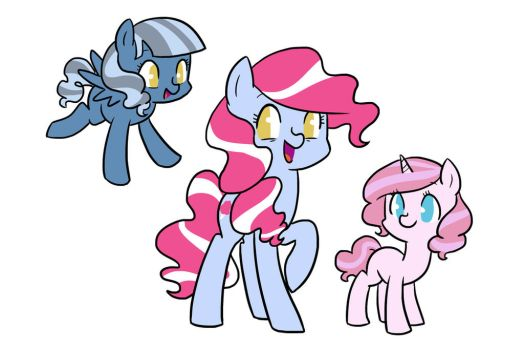 Pinkie Daughters by kilalaaa
