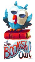 The Bookish Owl by MelDraws