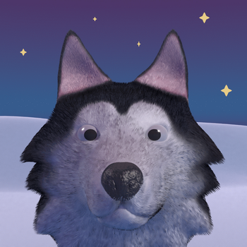 [COMMISSION] Animated Husky Avi by Emperor-Erection