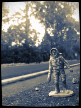 Space Man Project 10 by SilentHamish