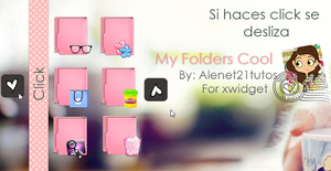 My Folders cool skins for xwidget by alenet21tutos