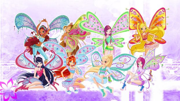 Winx Club Believix and Daphne by Bloom2
