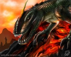 Dragon by pauloh-dsign
