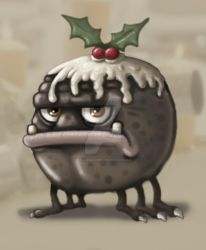 Chrismas Pudding Monster 2011 by stuartmcghee