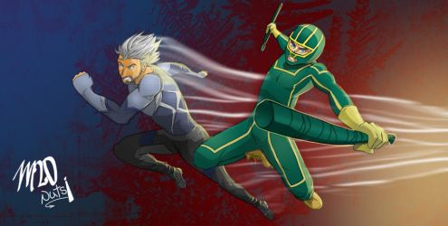 Kickass Quicksilver by madstanlee