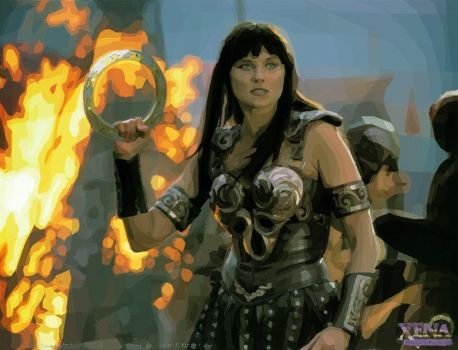 Rotoscope - Xena: Warrior Princess by thredith