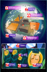 The Sci-My Lie Issue1 Page6, a new weekly WebComic by CandyAppleFox