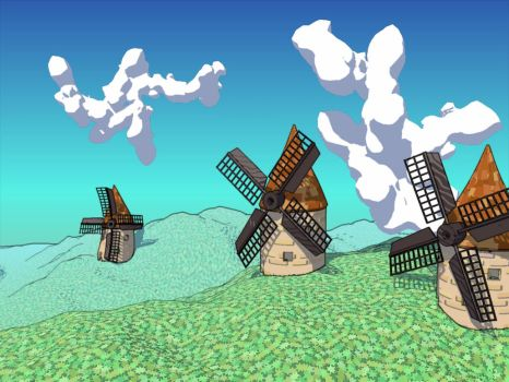 Windmills by Snake-fan-Solid