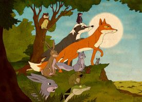 The Animals of Farthing Wood by LinusWesley
