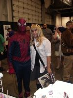 SCEE 2014 Spidermand and Gwen Stacy by QTZephyr
