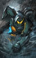 Gipsy Danger by toonfed