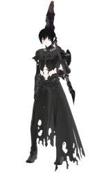 [MMD] Male Reaper outfit DL by UnluckyCandyFox