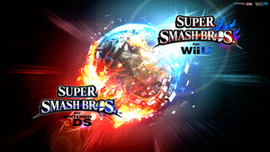 Super Smash Bros. Wii U/3DS Logo Wallpaper #52 by TheWolfBunny