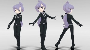 MMD - Sun/Moon Anabel (DL) by orangesage