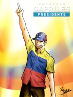 Capriles Radonski, hope for Venezuela. by Ruiisu-Eduaado