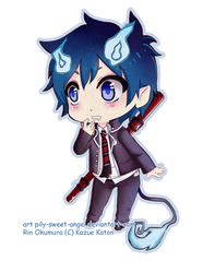 Rin okumura by pily-sweet-angel