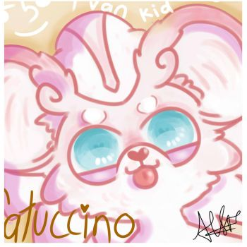 Retarded Sylveon lookin mouse on crack by CatuccinoFizz