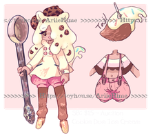 Cookie Doe Ice Cream - CLOSED! by Cottean