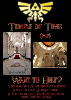 Temple of Time - Help Wanted by JanjyGiggins