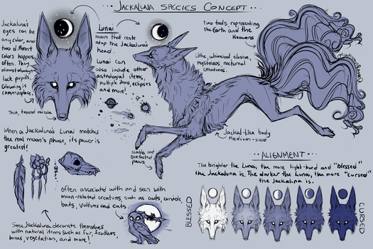 Jackaluna Species! by MischievousRaven
