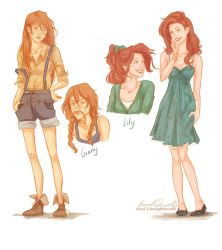 Ginny and Lily by viria13