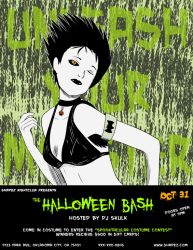 Club Flyer Practice - Halloween Bash by PhantomSkyler