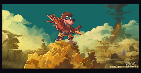SGDQ2018 - Banjo Tooie by knight-mj