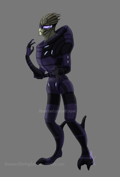 Garrus Vakarian - 1 by TwilightDreamKeeper