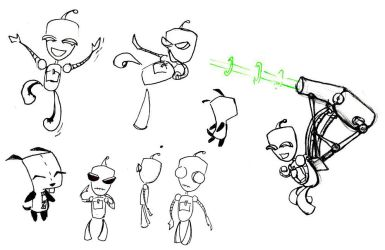Gir Doodle Page by lissa-quon