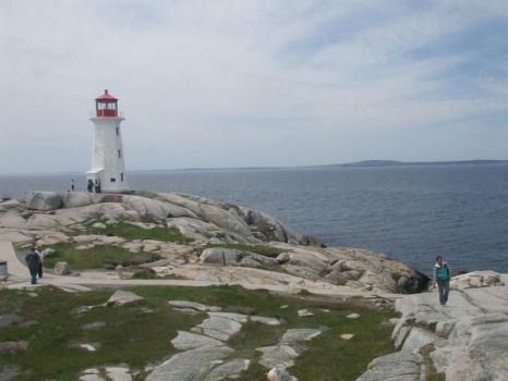 Lighthouse at Peggy's Cove by MillyDearka